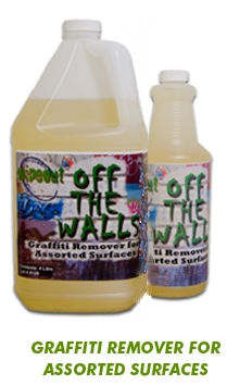 Graffiti Remover for Assorted Surfaces